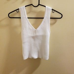 NWOT | Knit/sweater crop top